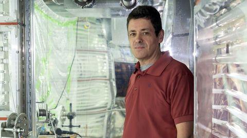 José Luis Jiménez, en el laboratorio de la Universidad de Colorado, donde es profesor