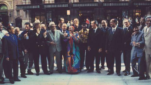 BUENA VISTA SOCIAL CLUB EN EL CARNEGIE HALL DE NUEVA YORK