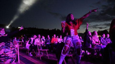 El público vibró con el festival a pesar de las restricciones, como en el concierto de Bad Gyal