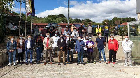 Participantes en el taller de empleo  Ribeiro 21