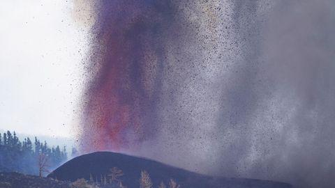Imágenes de La Palma, dos días después de la erupción del volcán