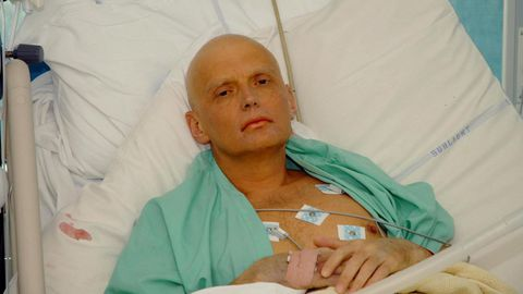 Alexander Litvinenko, el espía asesinado en el Reino Unido por orden de Rusia en el año 2006