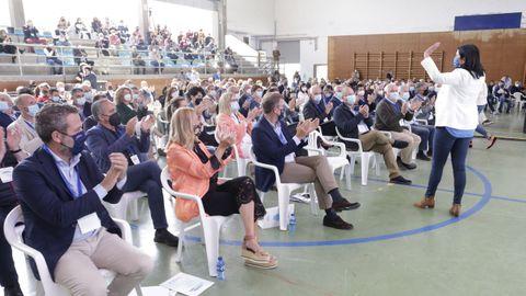 El BNG se queja de que se usase el pabellón municipal para un acto de partido