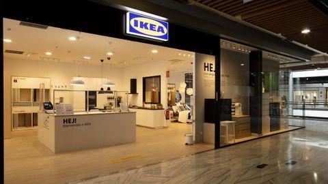 El local que abrirá Ikea en Santiago será como el que ya ha inaugurado en Gijón, en la imagen