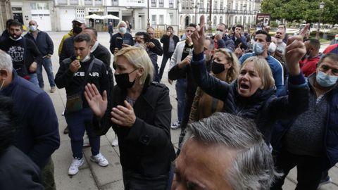Los feriantes ya irrumpieron en el Ayuntamiento el pasado lunes reclamando que les permitan instalar las atracciones