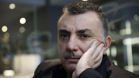 El poeta y novelista Manuel Vilas, en A Coruña en el 2016