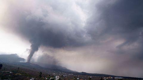 Cuarto día de erupción del volcán de La Palma