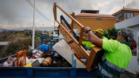 Desalojo de emergencia en Todoque (La Palma)