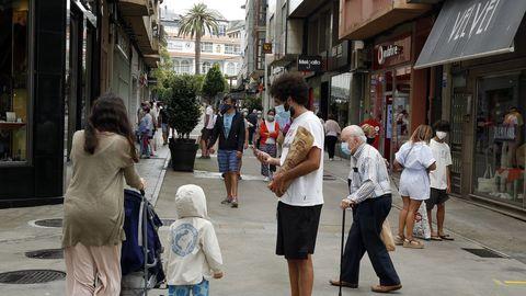 Los casos han vuelto a repuntar en la capital barbanzana, que suma 13 contagios en las dos últimas semanas