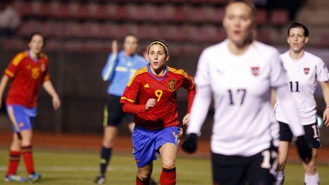 Selección española (2002-2016). Fue la referente de España durante más de una década. SANDRA ALONSO