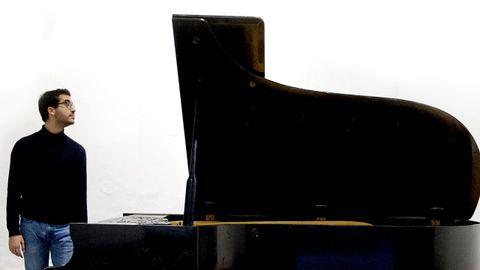 Juan Pérez Floristán, el ganador del «Óscar del piano», ofrecerá un concierto este domingo en Ferrol.