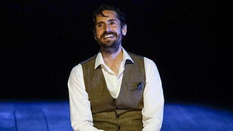 Juan Diego Botto en el Teatro Principal de Ourense con la obra «Una noche sin luna» en noviembre del 2020