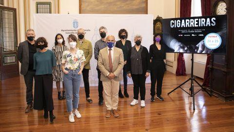 Presentación de «Cigarreiras» en María Pita
