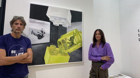 Juan Tallón y Paula Vicenti
