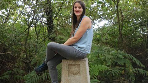 Elisa, alias Kukinhas, es autora de «A cociña do Camiño de Santiago»