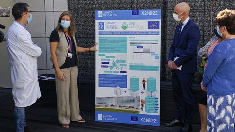 El proyecto Life Resystal fue presentado en la cubierta saludable del CHUO