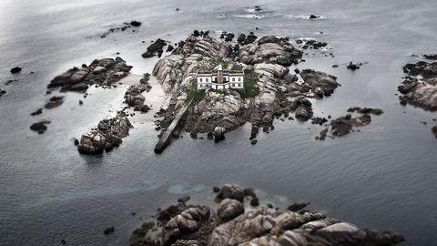 Islas Lobeiras, en Corcubión.