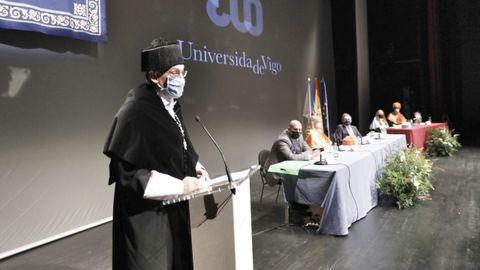 El rector de la Universidade de Vigo, Manuel Reigosa alabó el esfuerzo de los alumnos durante la pandemia