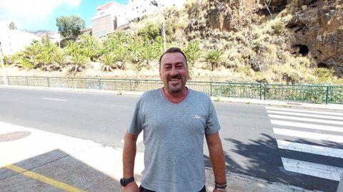 Francisco Jaime López, natural de Marín, y residente en La Palma desde hace 20 años