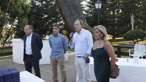 El Club Santo Domingo homenajeó a los fundadores en un emotivo acto por su 50 aniversario