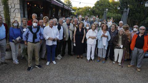 El Club Santo Domingo organizó un emotivo acto para homenajear a sus fundadores con motivo del 50 aniversario