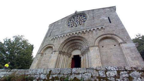 En la fachada de la iglesia ya se retiró el andamiaje utilizado en las obras de rehabilitación