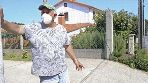 Manuel Leis, esposo de María Chico, tuvo que regresar a su casa de Alemania sin saber qué pudo pasarle a su mujer, que desapareció el 7 de agosto en la parroquia de Enfesta, en Santiago