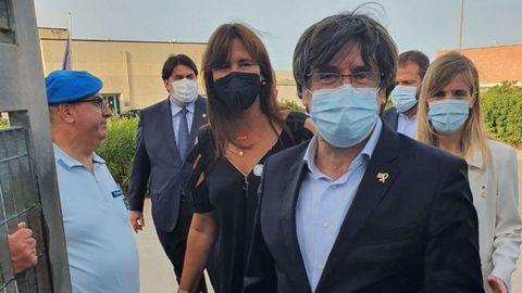 Puigdemont abandona la prisión de Cerdeña sin medidas cautelares