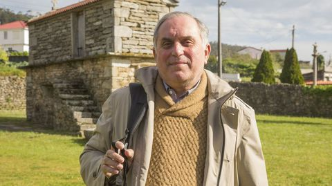Juan Ramón Vidal Romaní, catedrático emérito de Geología de la UDC