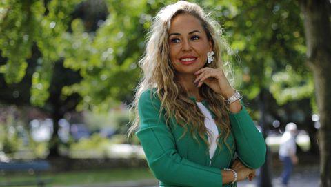 Ana Cores, odontóloga de A Coruña