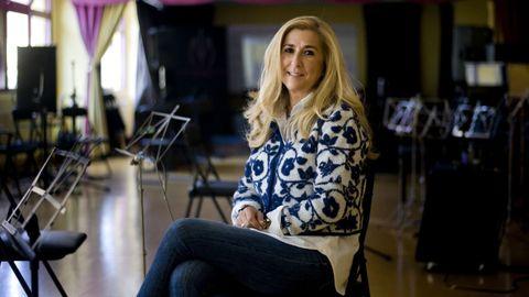 Elena Umbría, directora de la Escuela Municipal de Música de A Coruña