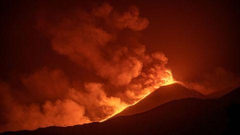 El Etna, el pasado mes de agosto