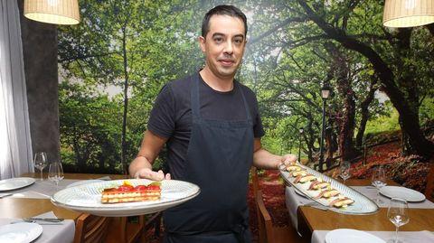 Restaurante O Cruceiro, en Berdeogas (Dumbría)