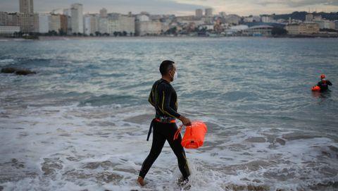 Travesía Costa C10000 en aguas abiertas en A Coruña