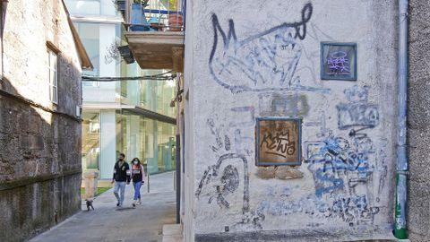 GRAFFITIS. ENTORNO DEL NUEVO EDIFICIO DEL MUSEO