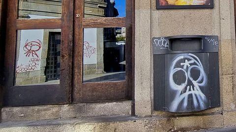 GRAFFITIS. ENTORNO DEL TEATRO PRINCIPAL
