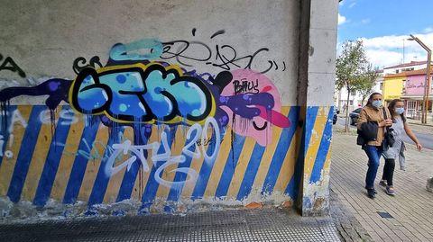 GRAFFITIS. SAN ANTONIÑO