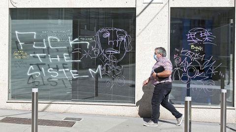 GRAFFITIS. PLAZA DE ESPAÑA