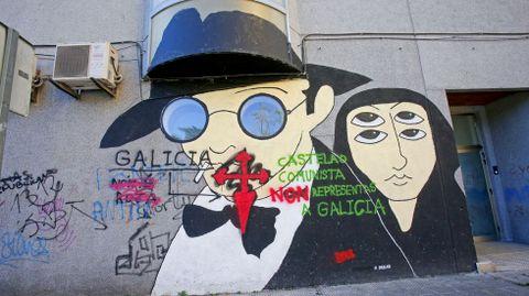 GRAFFITIS. RESIDENCIA DE LA TERCERA EDAD DE CAMPOLONGO
