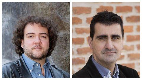 De izquierda a derecha, los directores José Miguel Pérez-Sierra (musical) e Ignacio García (escena).
