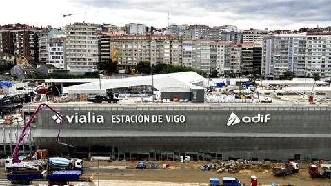 El centro Vialia afronta los últimos recortes antes de su apertura el jueves