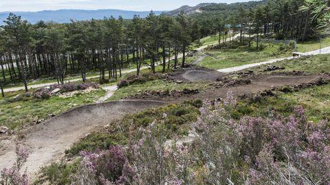 Bike Park de la estación de montaña de Manzaneda