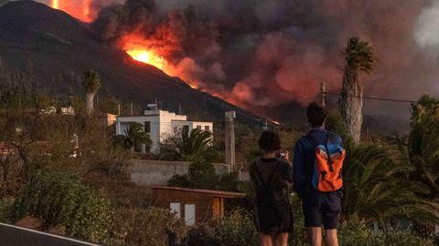 Duodécimo día de erupción del volcán de La Palma