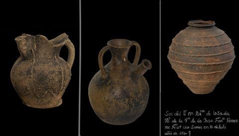 Algunhas das pezas que Canaveira levou a Huesca