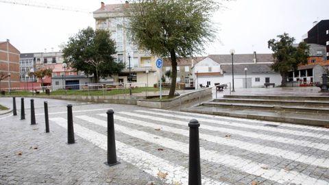 El Roteiro Literario de Silleda pasará por la plaza da Feira Vella.