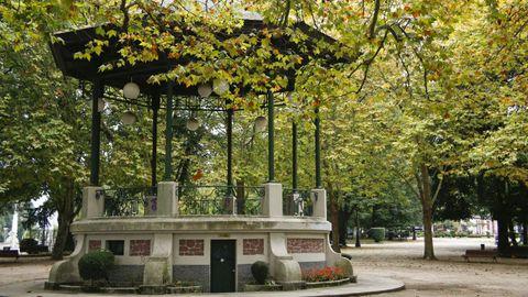 Parque Rosalía de Catro, en Lugo.