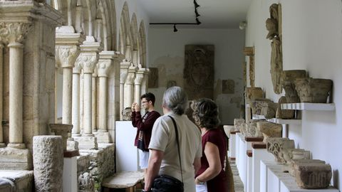 El Museo Provincial de Lugo está emplazado en el antiguo convento de San Francisco.