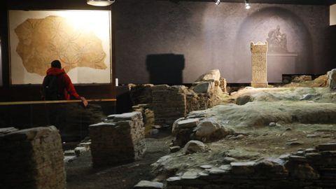 Museo romano Domus de Mitreo, en Lugo.