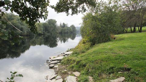 Paseo fluvial de Lugo.