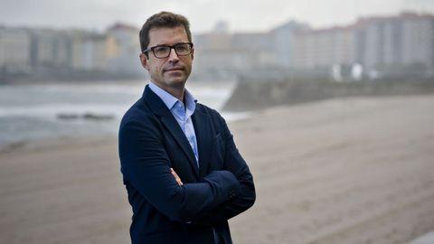 Andrés Lacasa, gerente de la Orquesta Sinfónica de Galicia.